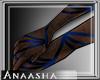 (Ana) JONE l gloves blue