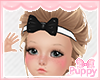 [Pup] Kids Gothic Bow