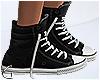 ~Gw~ Black Sneakers