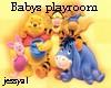 Babys playroom