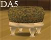 (A) Wood Tudor Seat
