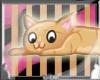 bpz| Orange Kitty Stckr~