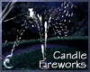 Candle Fireworks - White