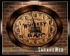 Whiskey Bar Clock