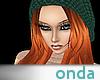 Redhead green cap