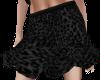 Black Leopard skirt