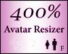Avatar Resize Scaler 400