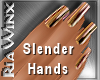 Wx:Slendr Polished Brass