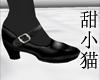 TXM School Shoes Blk/Blk