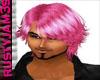 pink male hair