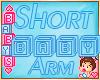 ! ✿ Shorter Baby Arms