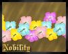 Pastel Wall Flowers