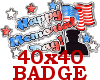 ~Memorial Day BADGE~