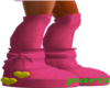 pink and yellow bearboot