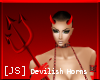 [JS] Devilish Horns!