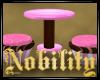 ·N· Pink Cupcake Table