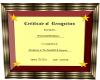 Eve's Certificate