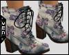 Vn | Lavender Lace-ups