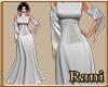 Derivable A-Line Gown