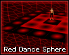 Red Dance Sphere
