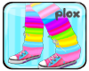 !P! Kiku's loose socks