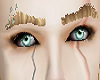 real blonde eyebrows