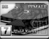 [BE] Grey Plaid|Kicks F