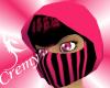 ¤C¤ Pink Ninja Girl Mask