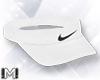!M! Nike White Visor ~ F