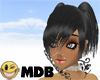 ~MDB~ BLACK PERSY HAIR