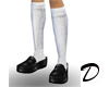 School Girl Shoes (bl/w)