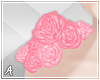 |A| Pink Roses Shoulder
