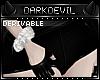 DD|evil Fur Bracelets