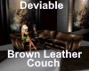 [BD] BrownLeatherCouch