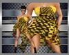 PF:Chiffon Yellow Dress