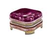 ♛ Pink Luxury Stool