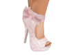 Party Pink Lace Shoes