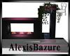 [AB] chemine rose/ noir