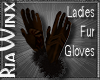 Sable Fur Gloves