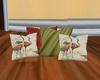 heron set of 4 pillows