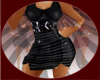 ~*S*~ Blk Ruffle Dress