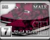 [BE] Pink Plaid|Kicks M