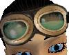 Green Aviator Goggles