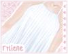 pale halter dress / blue