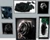 Black Rose wall art
