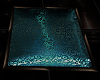 Square Turquoise Rug