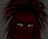 Crimson Lion Mane Hair