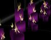 *Purple Big Row Candles
