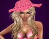 Kandace w/pink hat