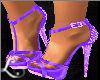 xo*Purple High Heels